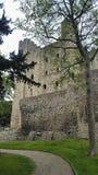 Замок Rochester Кент Великобритания Стоковое фото RF