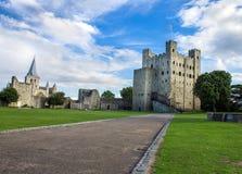 Замок Rochester Стоковая Фотография