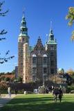 Замок Rosenborg в Копенгагене стоковое фото
