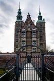 Замок Rosenborg! Седьмой век, Копенгаген, Дания стоковое фото rf