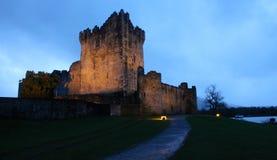 Замок Ross, Керри Ирландия графства Стоковое Изображение RF