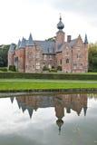 Замок Rumbeke ренессанса стоковое фото