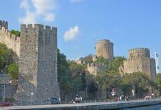 замок rumelian Стоковые Изображения RF