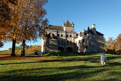 Замок Sédières Стоковое Фото