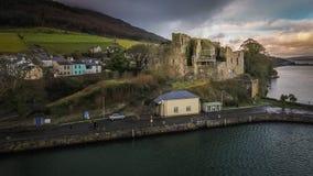 Замок ` s короля Джона Carlingford графство Louth Ирландия стоковое изображение rf