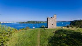 Замок ` s Audley Strangford спуск графства, Северная Ирландия стоковое фото