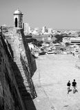 Замок San Felipe Стоковая Фотография RF