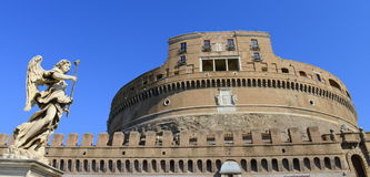 Замок Sanr Angelo, Рим, Италия стоковая фотография