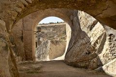 замок santa Барвары Стоковое Фото