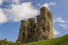 Замок Scarborough стоковое изображение rf