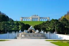 Замок Schönbrunn, Gloriette Стоковые Фотографии RF
