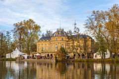 Замок Schloss Monrepos, Ludwigsburg Стоковое фото RF
