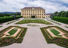 Замок Schonbrunn стоковое изображение