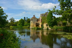 Замок Scotney Стоковое Фото