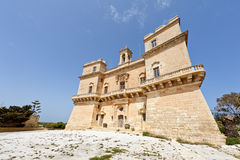 Замок Selmun, Мальта Стоковая Фотография RF