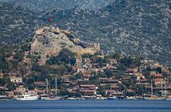 Замок Semena стоковое фото
