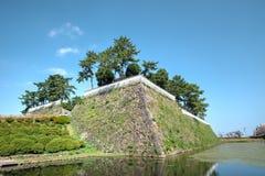 Замок Shimabara, Нагасаки, Кюсю, Япония Стоковое фото RF