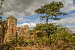 замок shropshire burnell acton Стоковая Фотография