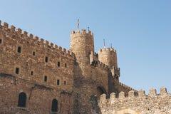 Замок Siguenza, Гвадалахары Стоковое Изображение