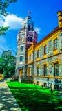 Замок Sigulda новый & x28; Latvia& x29; стоковые изображения rf