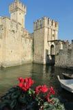 Замок Sirmione стоковые фото