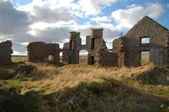 Замок Slains Стоковое Изображение