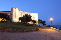 Замок Sohail в Fuengirola, Испании стоковое фото rf
