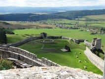 Замок Spis Стоковое фото RF