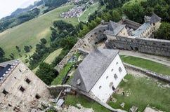 Замок Stara Lubovna, Словакия Стоковое Изображение RF