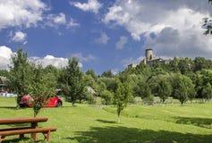Замок Stara Lubovna, Словакия Стоковые Изображения RF