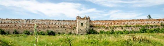 Замок Staroselskiy в взгляде Selo в Львове Стоковая Фотография