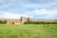 Замок Staroselskiy в взгляде Selo в Львове Стоковое фото RF