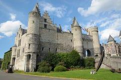 замок steen antwerp Стоковые Изображения