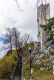 Замок Stein Бадена в Швейцарии - 1 Стоковые Фотографии RF