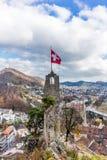 Замок Stein Бадена в Швейцарии - 2 Стоковое Изображение