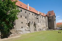 Замок Strakonice, чехия Стоковое фото RF
