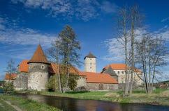 Замок Svihov 2 воды, чехия Стоковая Фотография RF