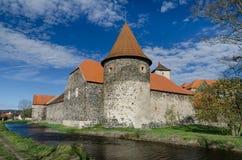 Замок Svihov 1 воды, чехия Стоковое Изображение