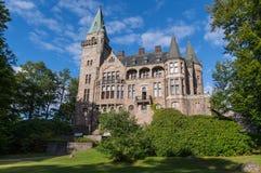 Замок Teleborgs в Швеции стоковое фото rf