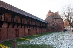 Замок Teutonic заказа в Мальборке Стоковое Фото