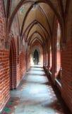 Замок Teutonic заказа в Мальборке Стоковые Изображения RF
