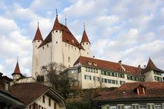 Замок Thun, кантон Берн, Швейцария стоковая фотография