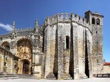 Замок Tomar, Португалия Стоковое Фото