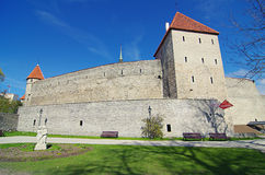 Замок Toompea в Таллине, Эстонии Стоковые Фотографии RF