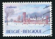 Замок Torhout Wijnendale стоковое изображение rf