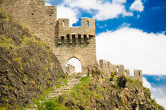 Замок Tourbillon/Замок De Tourbillon Стоковые Изображения RF