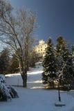 Замок Trakoscan в зиме Стоковые Изображения RF