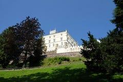 Замок Trakoscan в Хорватии стоковое фото