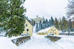 Замок Trakoscan, Хорватия Стоковое Фото