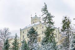 Замок Trakoscan, Хорватия Стоковые Фото
